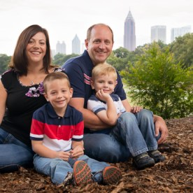 Family at Piedmont Park | Kelley K Photography