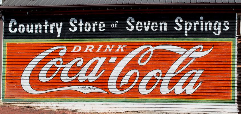 Coca Cola Sign in Powder Springs | Kelley K Photography
