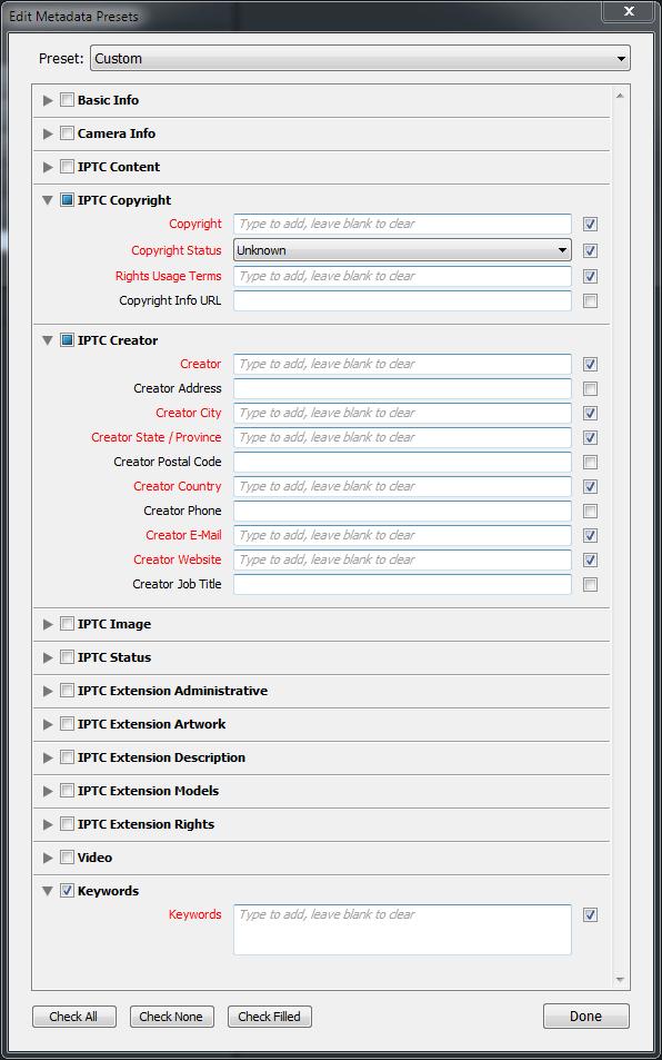 lightroom-metadata-preset-panel