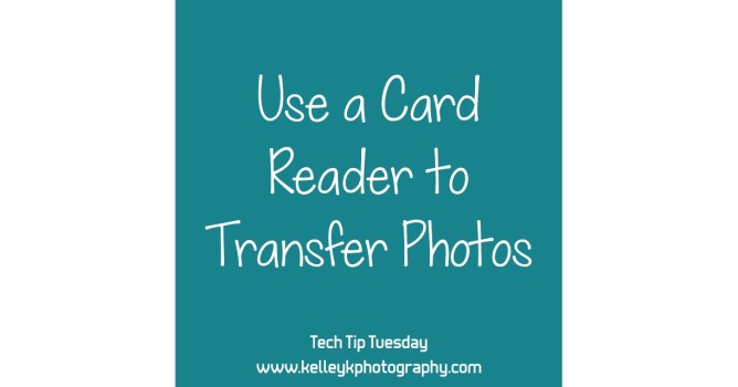 Tech Tip: Use a Card Reader to Transfer Photos