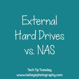 Tech Tip: External Hard Drives vs. Network Attached Storage