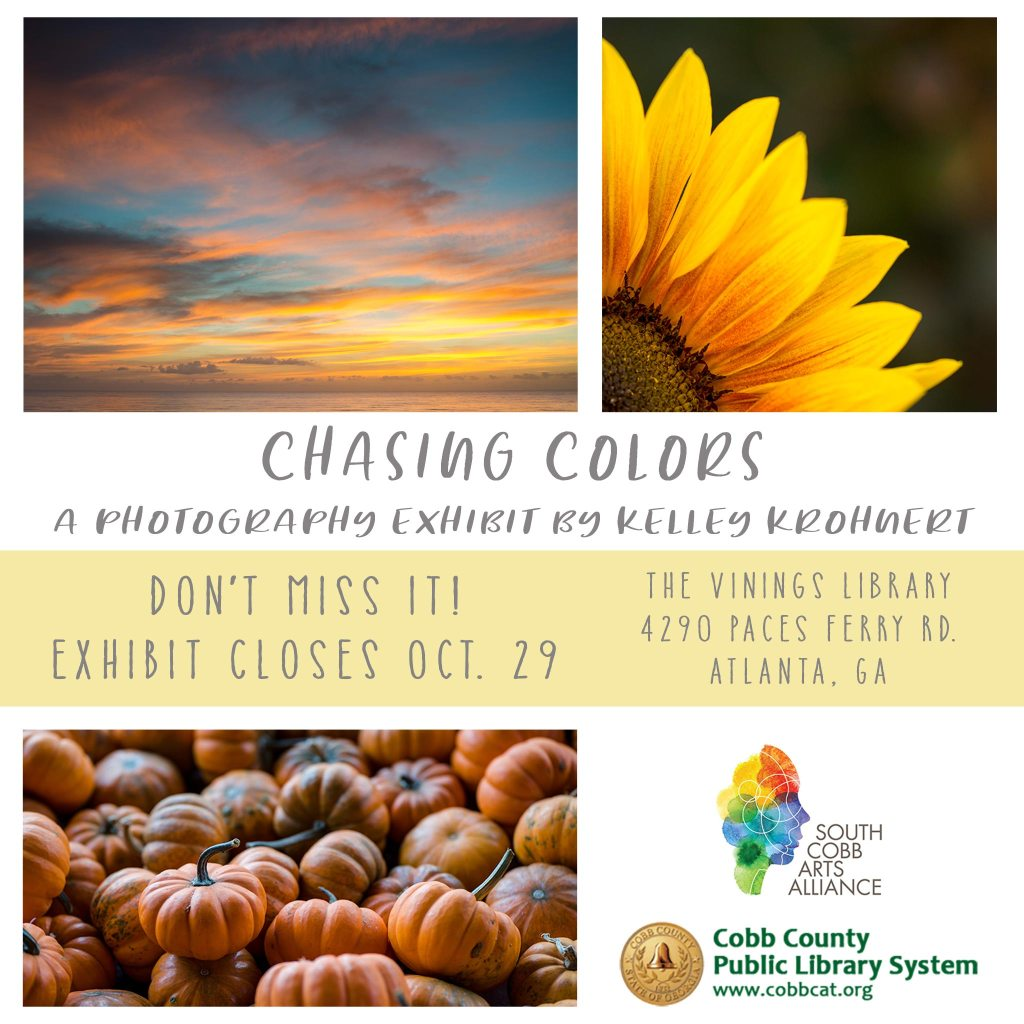 Chasing Colors - Vinings Library Photography Exhibit