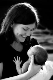The smile of a newborn