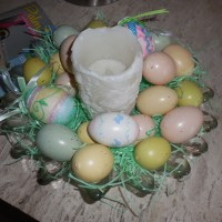 Plastic Eggs UpCycled