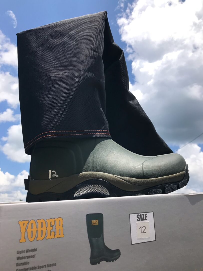 Cougar(Yoder) Boots with Klight