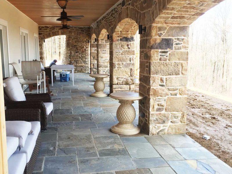 Entrance Walls And Columns Loudoun County Kelleys Masonry