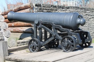 Of course: canons. Photo: Kelley Teahen