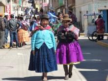 Aymara women in Puno district