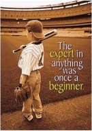 Winner was once a beginner