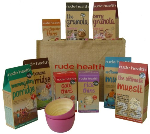 Rude Health jute bag giveaway