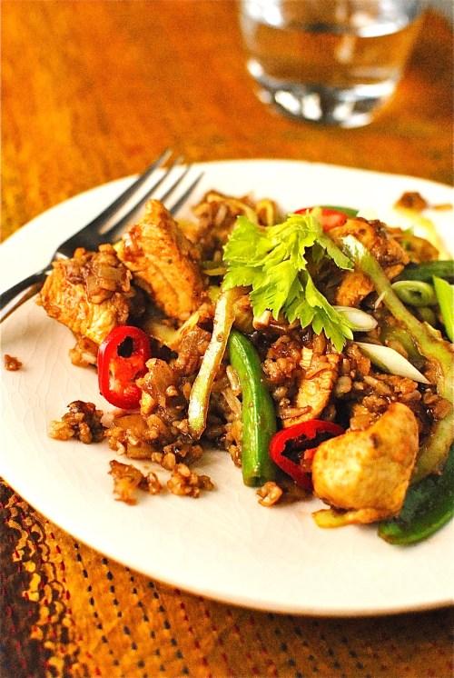 indonesian turkey fried rice