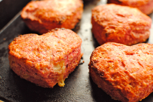 beetroot and cheese scones