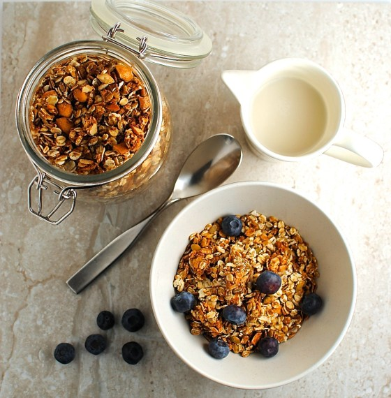 sunflower seed butter granola