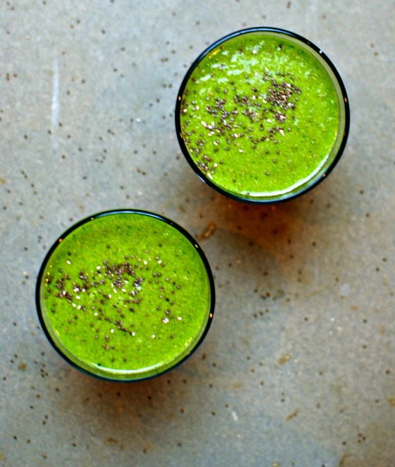 simple kale smoothie