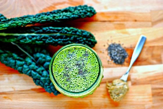 simple kale smoothie green smoothie