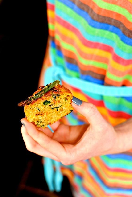 savoury vegetable muffins