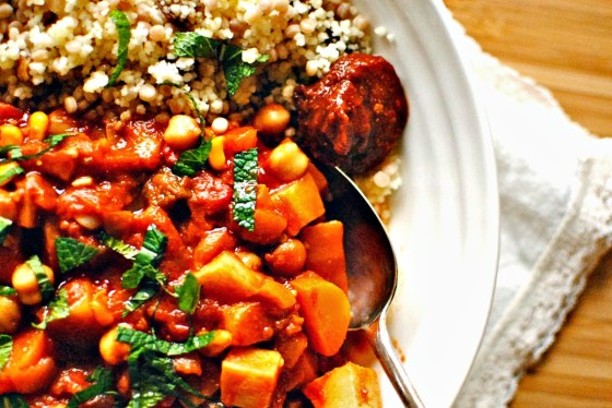 chickkpea and vegetable ta