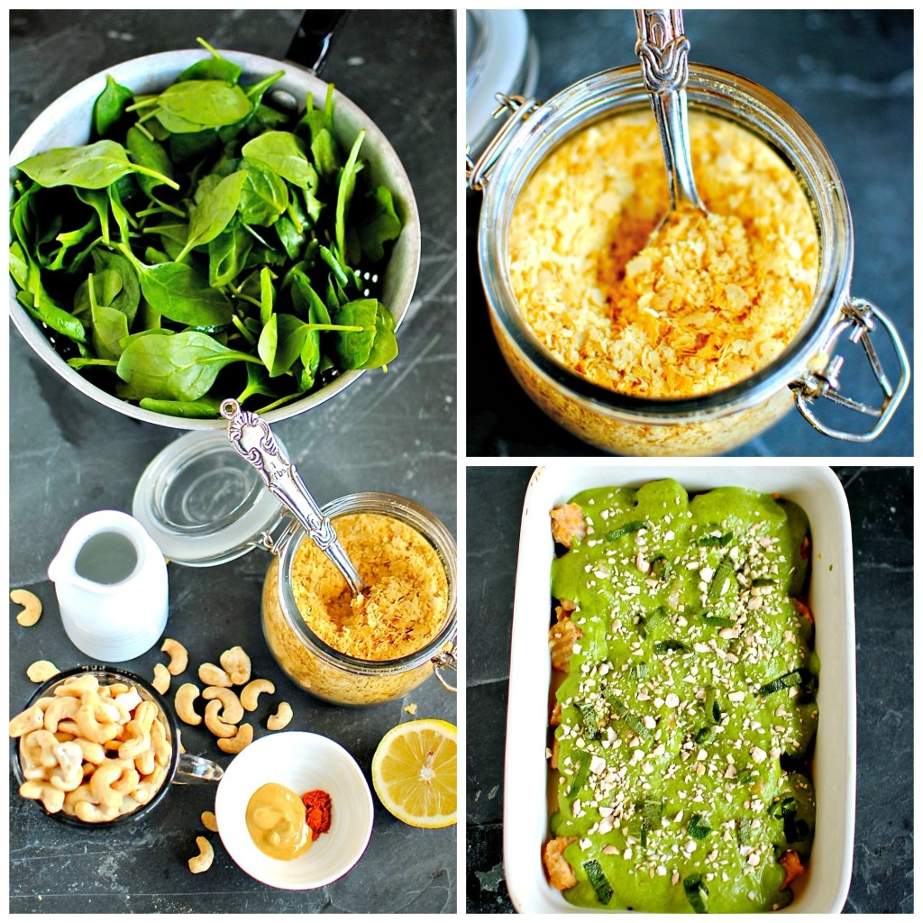 vegan Florentine {spinach} sauce