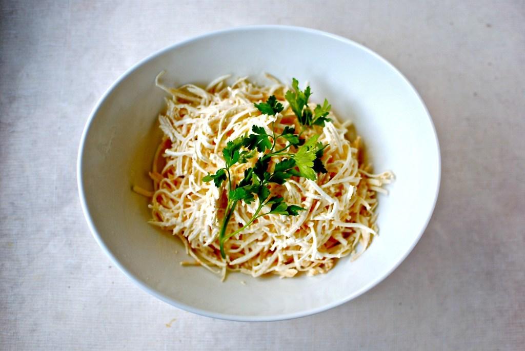 celeriac remoulade // food to glow