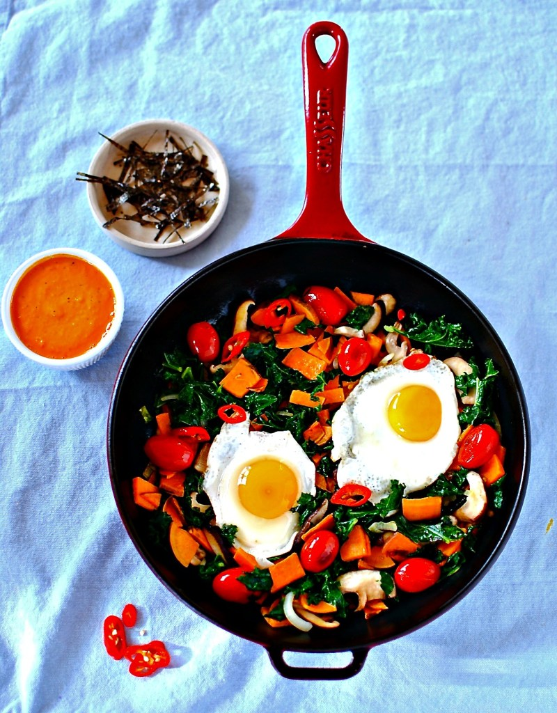 japanese-skillet-breakfast by food to glow