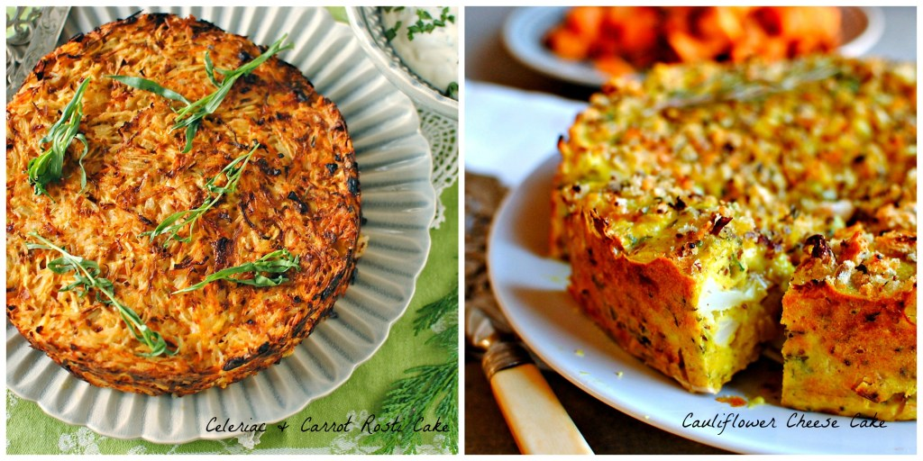 A Foraged Savory Vegetable Cake For A Vegetarian Easter