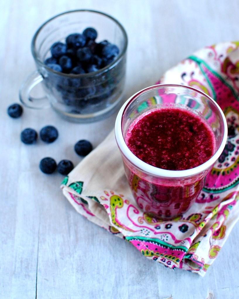 Pom-Berry Pear Juice // food to glow