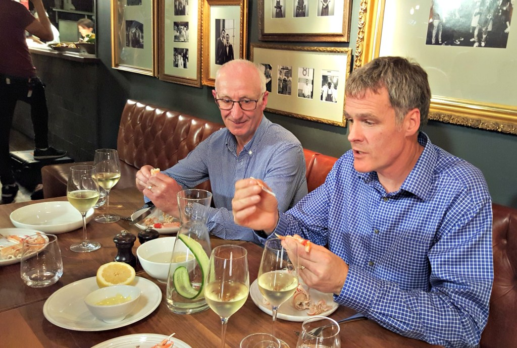 Kenny McNab and Ian Wightman, Scottish langoustine fishermen