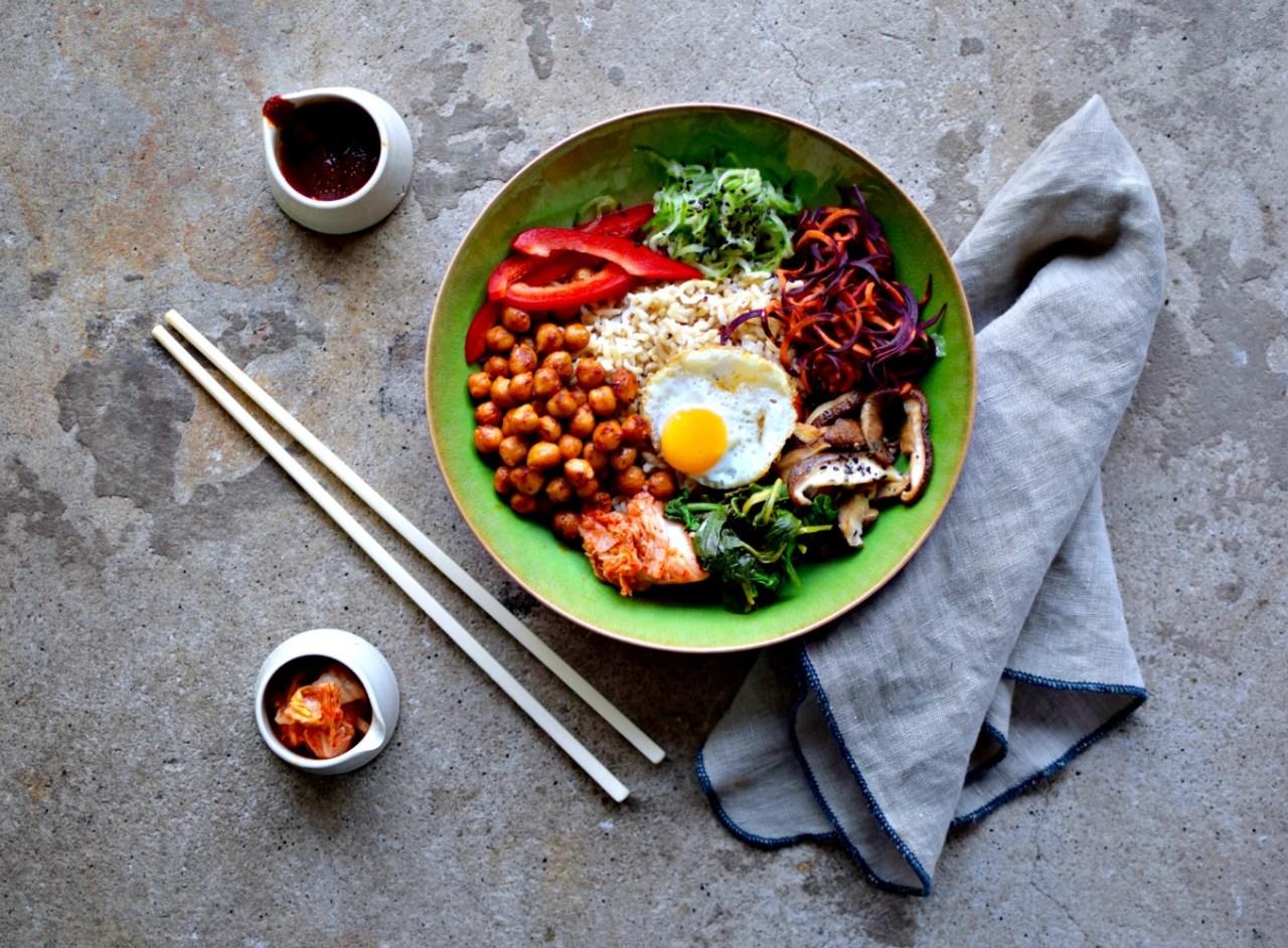 gochujang-chickpea-bibimbap