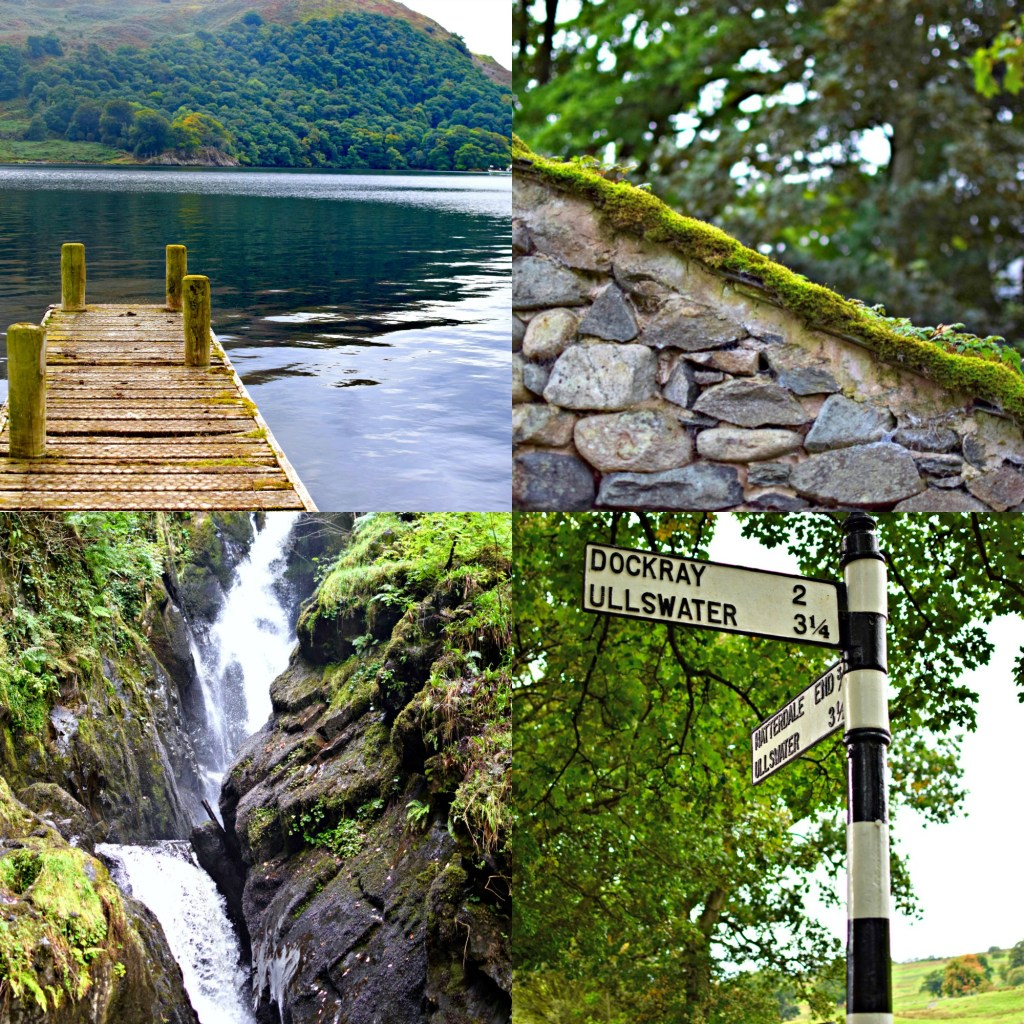Aira Force and Ullswater, Lake District, England