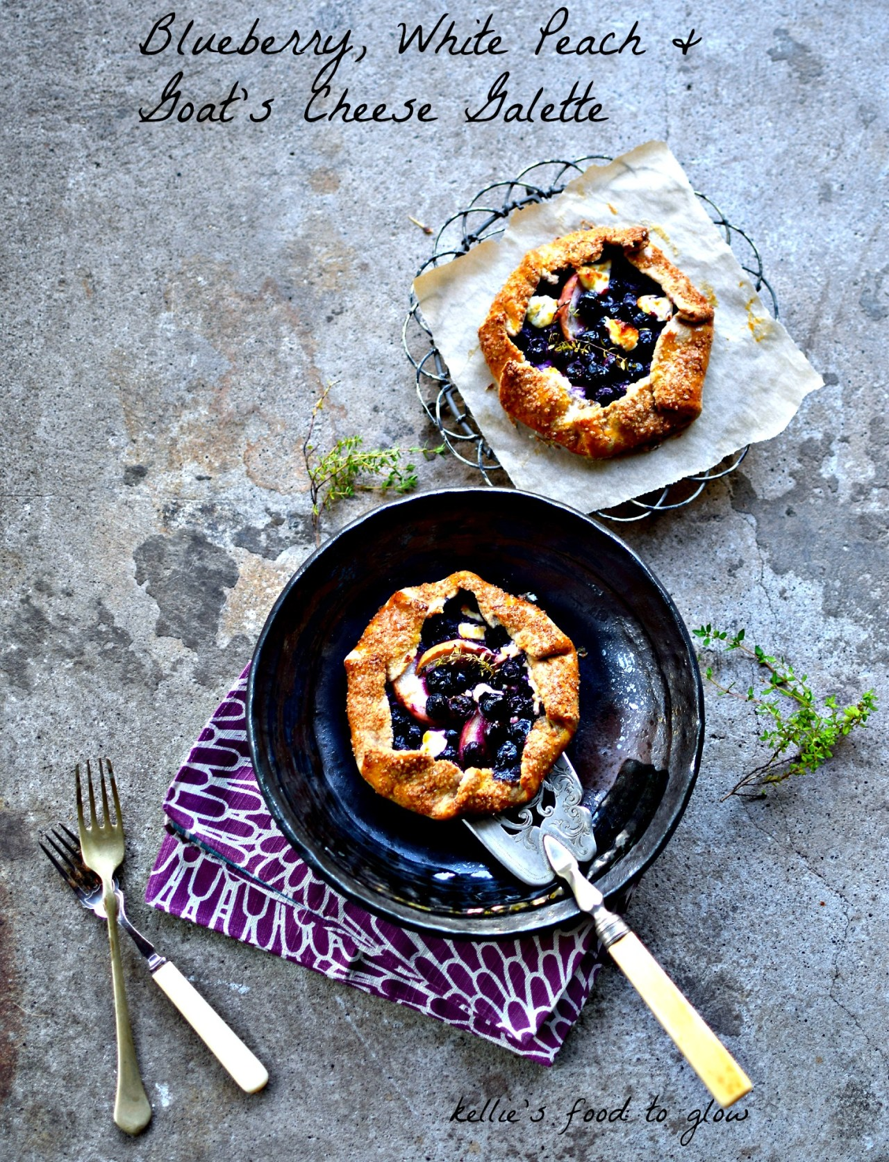 Blueberry Wholegrain Galette