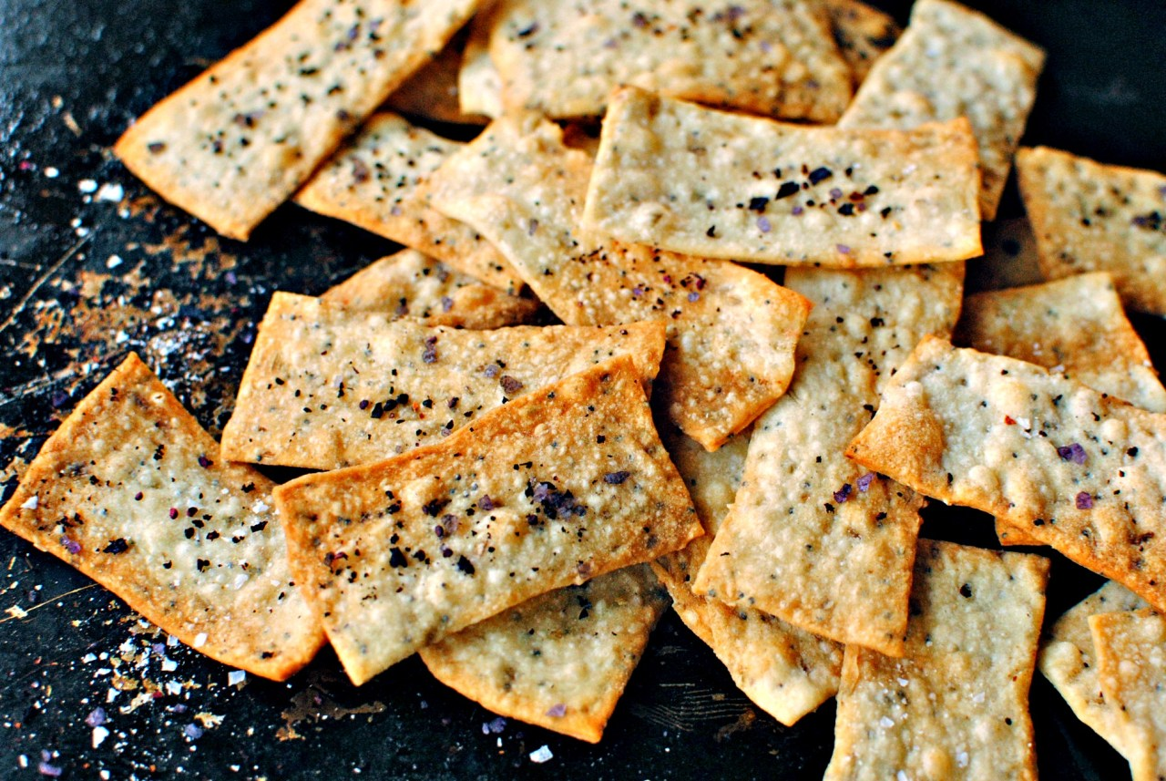 Fennel Seed Crackers - so easy and so good!