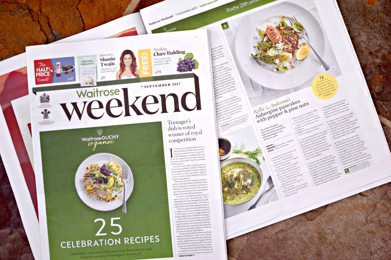 food to glow in waitrose weekend