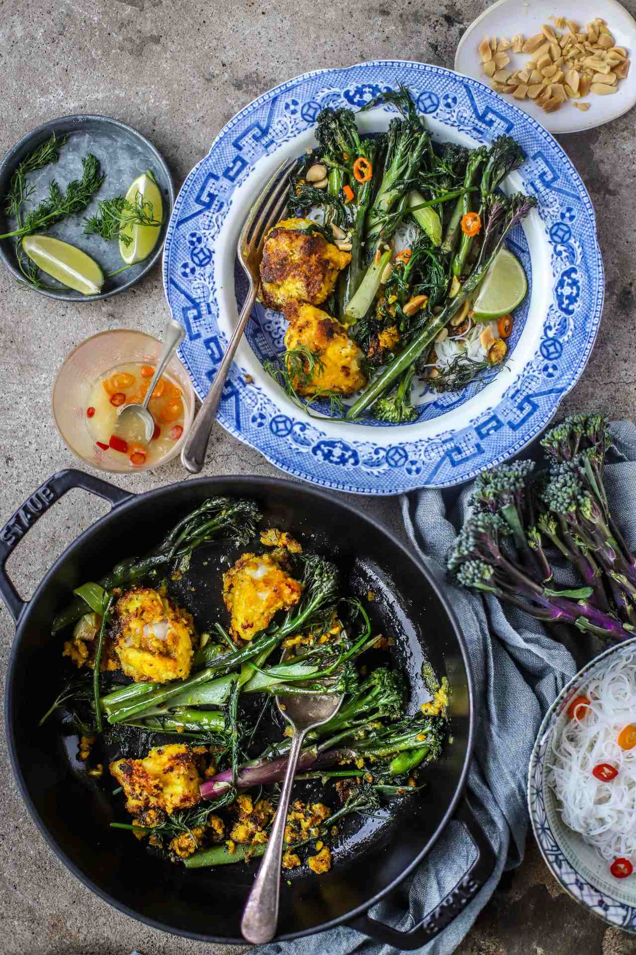 A classic and deeply aromatic Vietnamese fish dish, enhanced with the goodness of Tenderstem®️ Royale. #fish #broccoli #Vietnamese #recipe