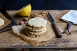 buttery lemon cookie stack