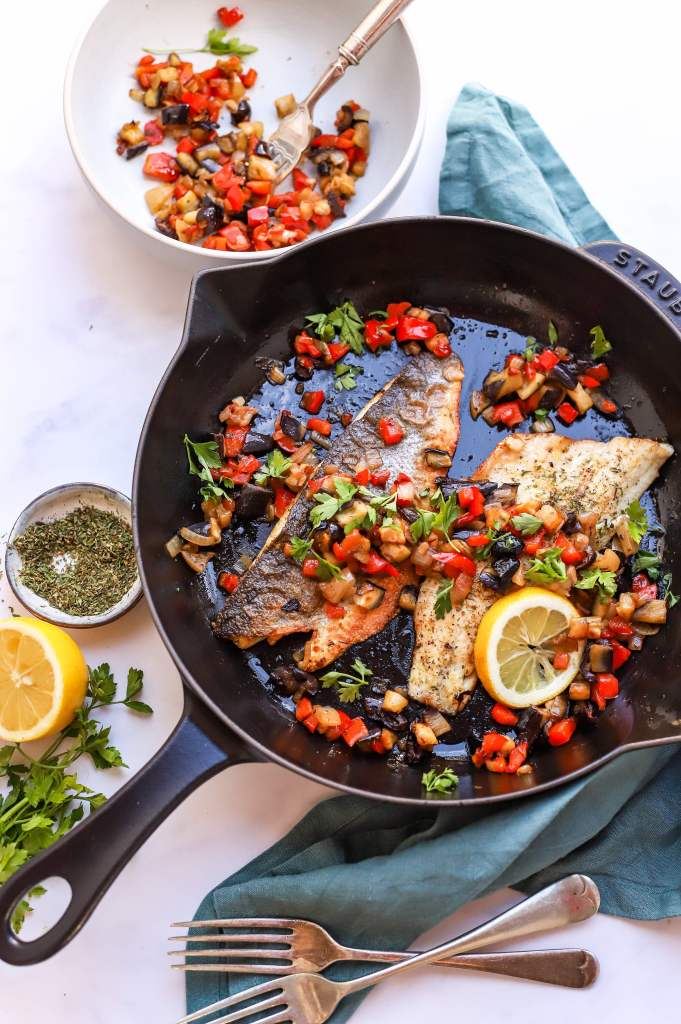 Greek sea bass