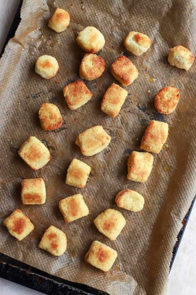 baked cauliflower gnocchi