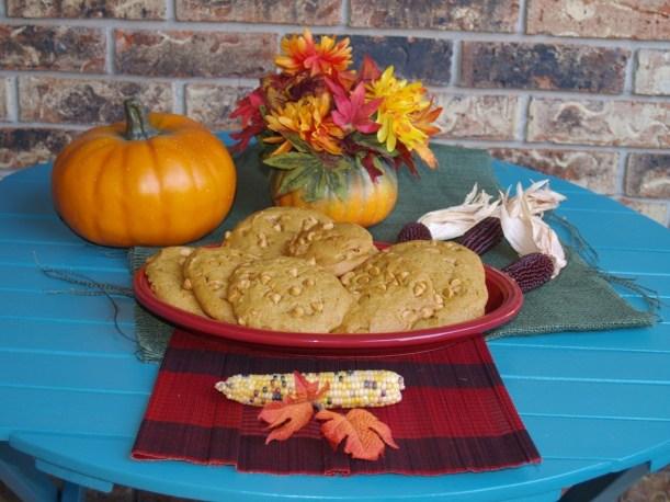 dinner Monster Pumpkin Butterscotch Cookies for #cookieofthemonth