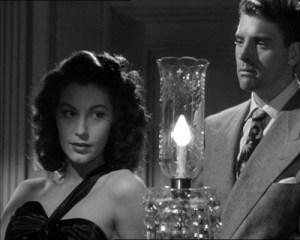 Ava Gardner and Burt Lancaster in The Killers