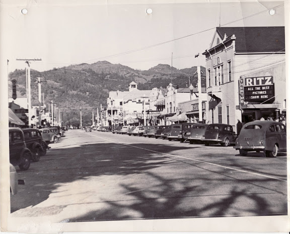 Calistoga in the 1940s