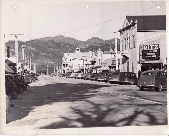 Calistoga in the 1940s