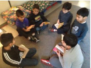 Literature Circle Discussion