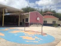 One playground area.