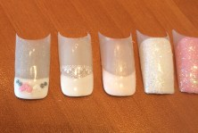 add a touch of wow to your wedding day nails