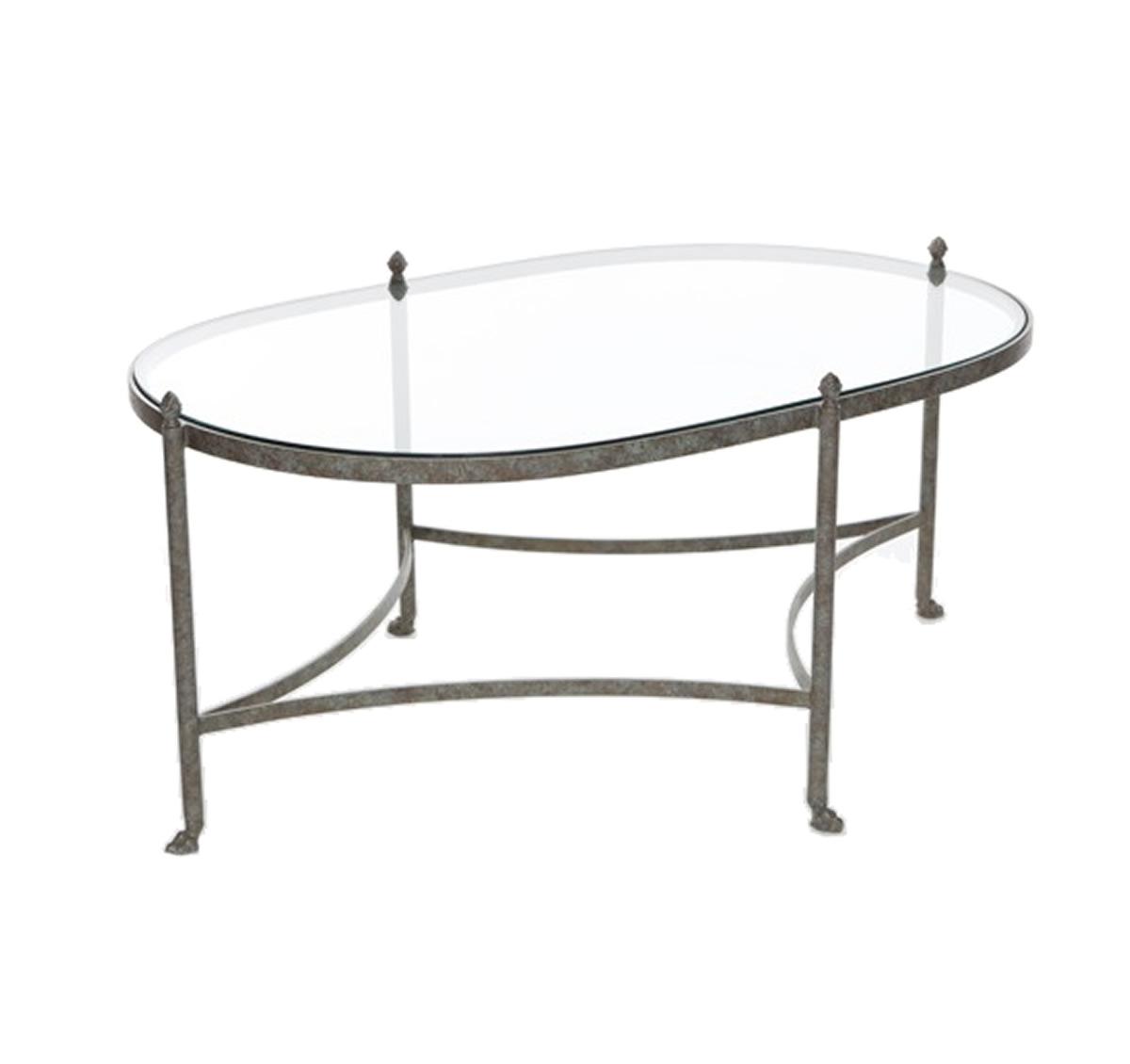 Kellogg Oval Cocktail Table The Kellogg Collection