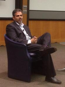 Sanket Akerkar, Microsoft Chief Evangelist at #KelloggBLC #LeadershipWeek2014 — @KelloggBLC