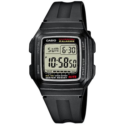 F-201WA-1 Casio miesten digitaalinen kello