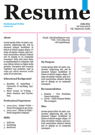 amazing resume templates resume cv template word creative resume