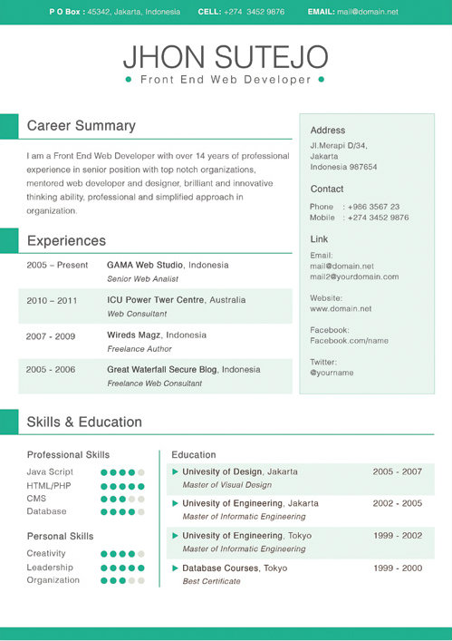 indesign resume template download resume templates that you can