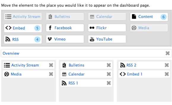 Customize Dashboard - Live