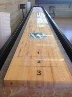 suffleboard in the office!